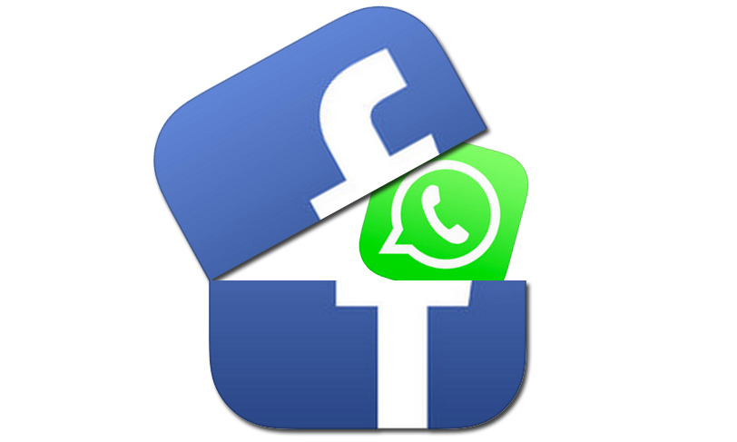Share whatsapp data with facebook