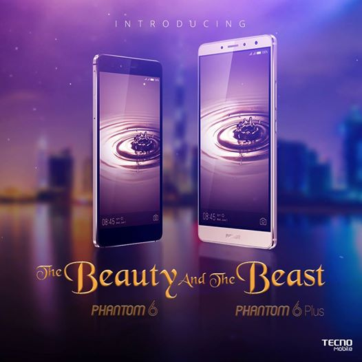 Tecno Phantom 6 and 6 plus unveiled