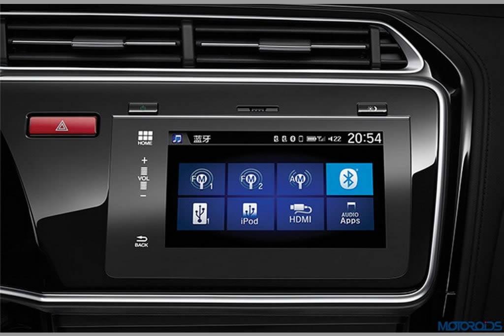 Honda city 2017 car interior
