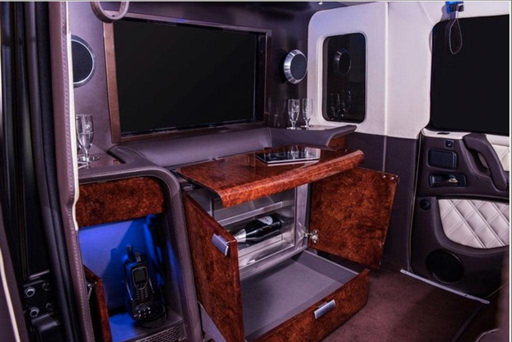 N500 million naira Mercedes Benz G63 AMG interior