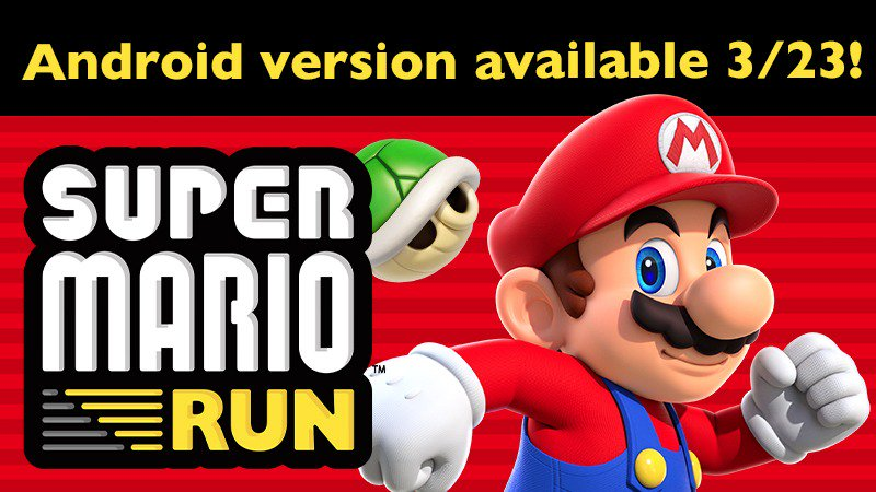 Super Mario run android game