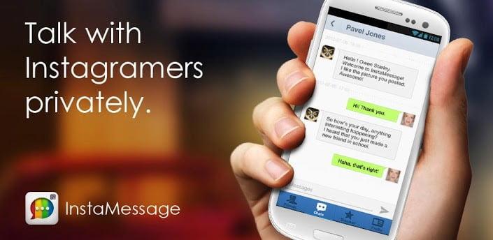 instamessage online social networking app