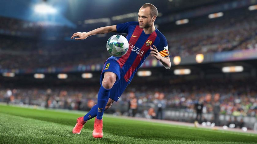 2018 pro evolution soccer game for PC and Consoles
