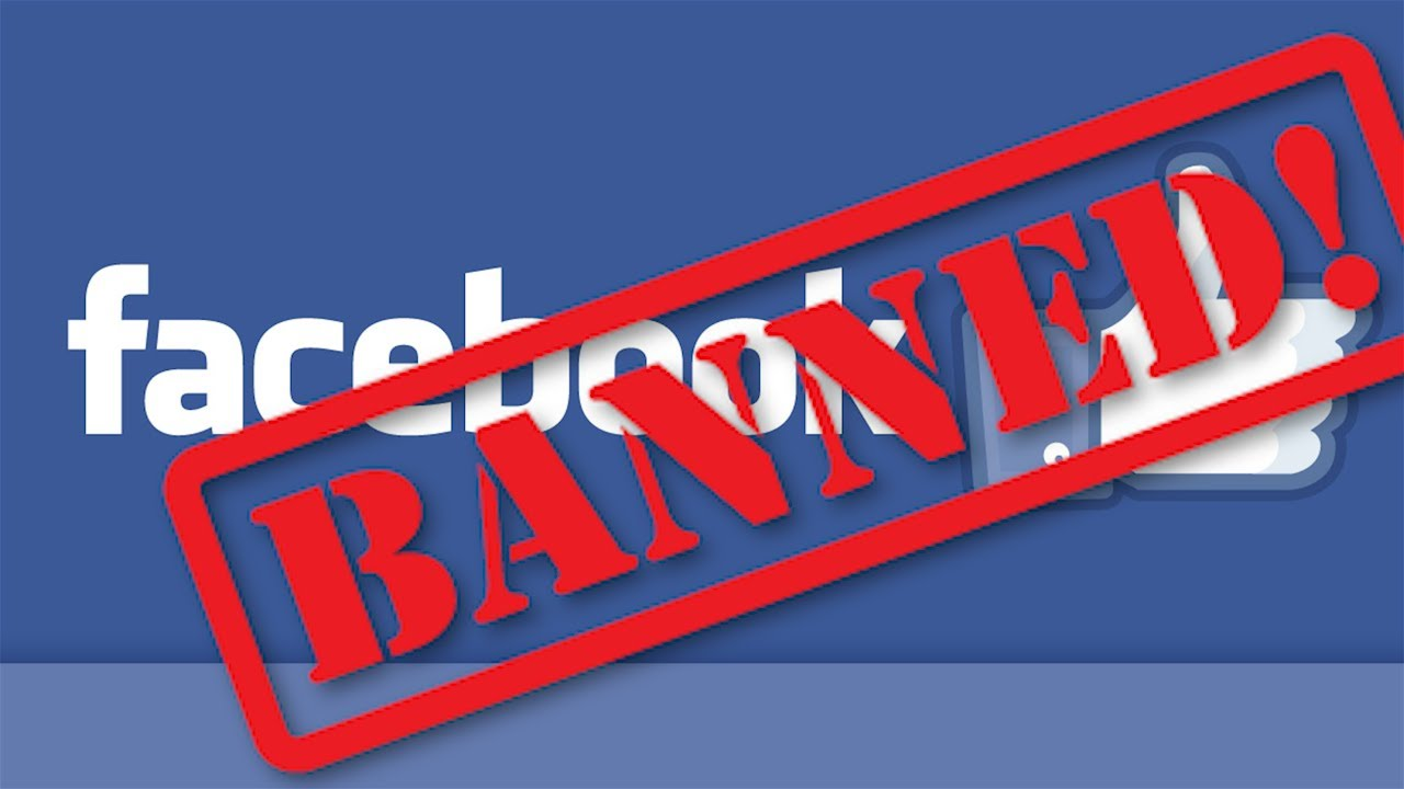 reasons why facebook account gets supended, banned or disabled