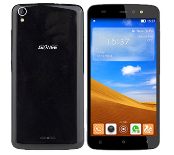 Gionee Pioneer P6 Specs and review