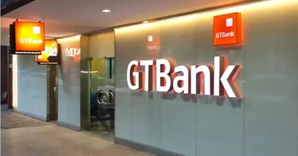 GTBank dormiciliary account
