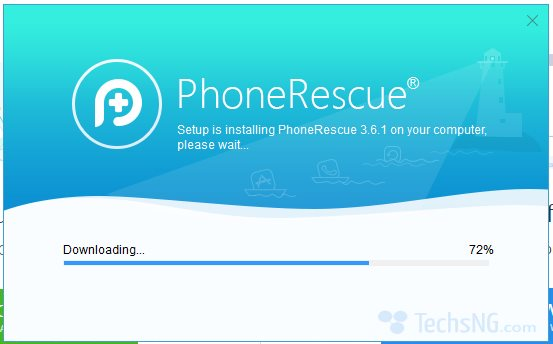 phonerescue downloading external data needed