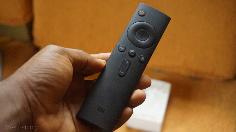 Xiaomi Mi TV Box remote controller