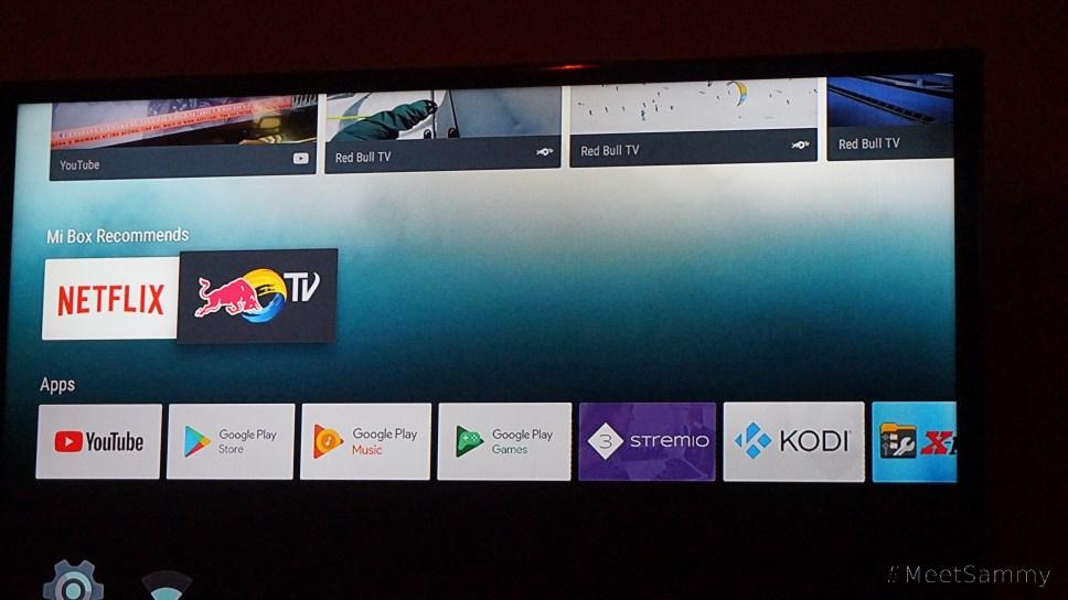 Xiaomi Mi TV box User Interface review