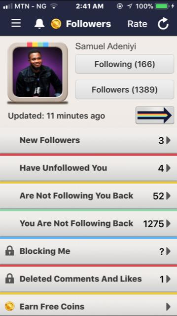 followers for instagram app overview